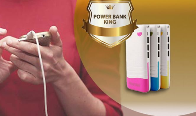 Powerbank KING töltő