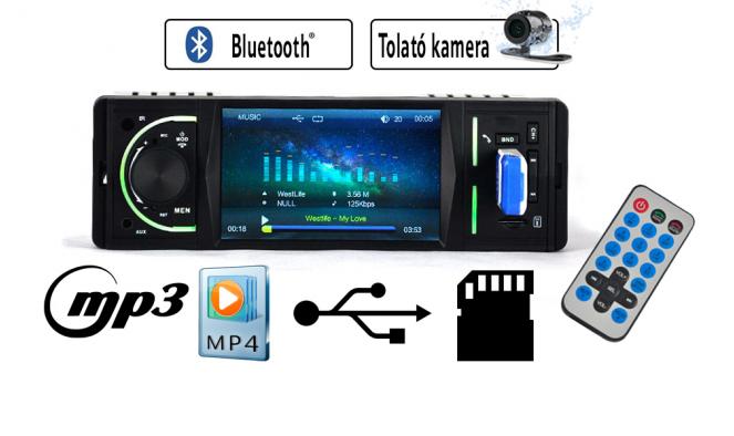 Autós multimédiás rádió