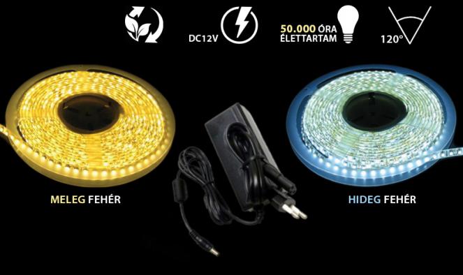 5m-es dekorációs LED szalag