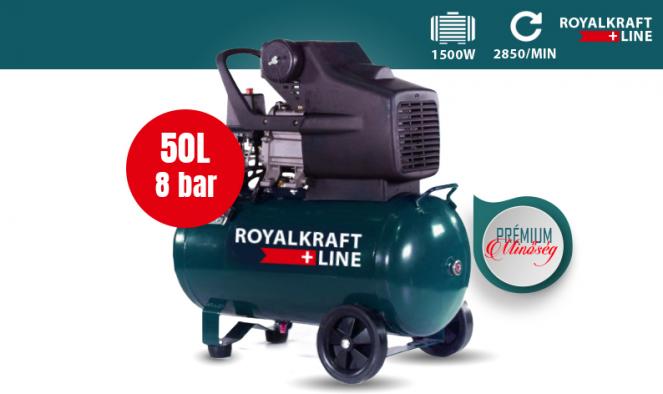 Royalkraft 50L kompresszor
