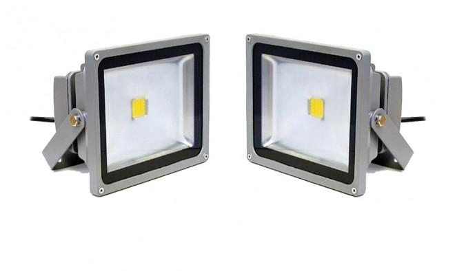 2 db 10 wattos LED reflektor