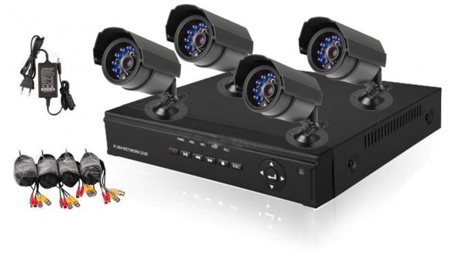 Komplett megfigyelő rendszer